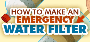 How to Make An Emergency Water Filter